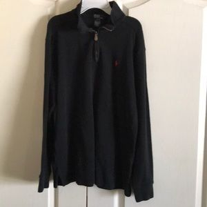 Polo by Ralph Lauren Boys Pullover Sweater Blk XL
